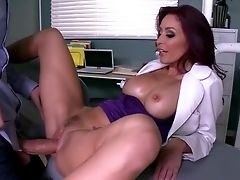 Stunning Female Doc Work Out The Brilliant Fuck